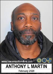 Anthony Laverne Martin a registered Sex Offender of Iowa