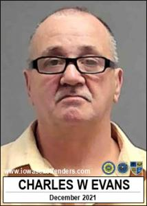 Charles William Evans a registered Sex Offender of Iowa
