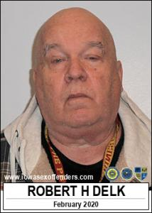 Robert Howard Delk a registered Sex Offender of Iowa
