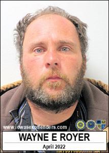 Wayne Eugene Royer a registered Sex Offender of Iowa