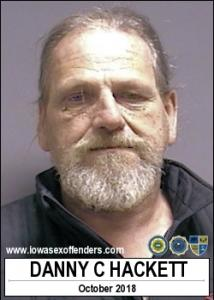 Danny Cecil Hackett a registered Sex Offender of Iowa
