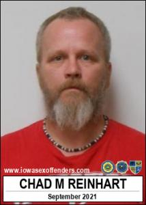 Chad Michael Reinhart a registered Sex Offender of Iowa