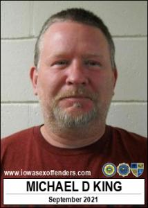 Michael Douglas King a registered Sex Offender of Iowa