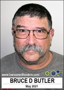 Bruce Duane Butler a registered Sex Offender of Iowa