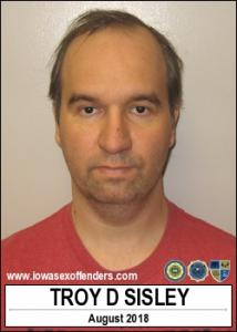 Troy Don Sisley a registered Sex Offender of Iowa