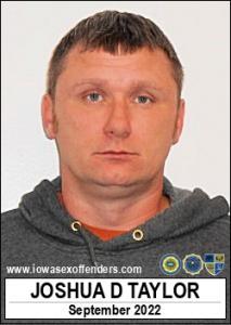 Joshua David Taylor a registered Sex Offender of Iowa