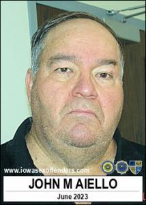 John Michael Aiello a registered Sex Offender of Iowa