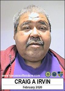 Craig Allen Irvin a registered Sex Offender of Iowa