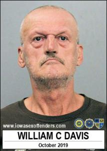 William Claude Davis a registered Sex Offender of Iowa