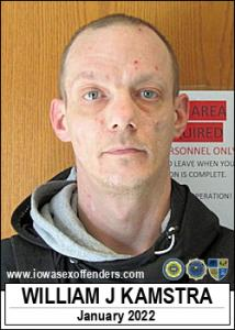 William John Kamstra a registered Sex Offender of Iowa