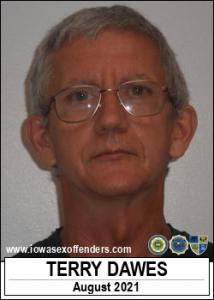 Terry Dawes a registered Sex Offender of Iowa
