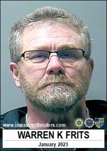 Warren Kiplying Frits a registered Sex Offender of Iowa