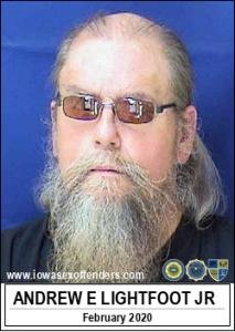 Andrew Emil Lightfoot Jr a registered Sex Offender of Iowa