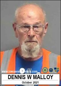 Dennis Wayne Malloy a registered Sex Offender of Iowa