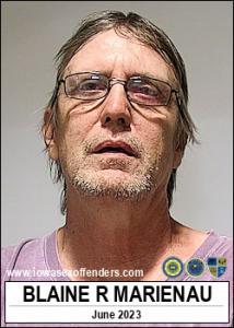 Blaine Robert Marienau a registered Sex Offender of Iowa