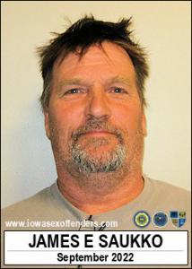 James Ernest Saukko a registered Sex Offender of Iowa