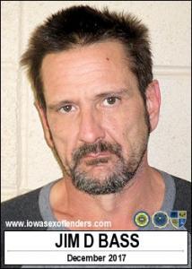 Jim Dirk Bass a registered Sex Offender of Iowa