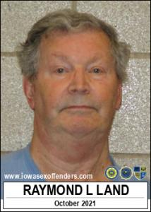 Raymond Lavern Land a registered Sex Offender of Iowa
