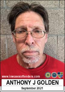 Anthony James Golden a registered Sex Offender of Iowa