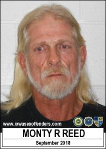 Monty Ray Reed a registered Sex Offender of Iowa