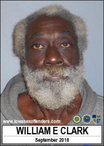 William Earl Clark a registered Sex Offender of Iowa