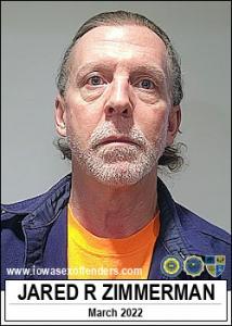 Jared Raymond Zimmerman a registered Sex Offender of Iowa