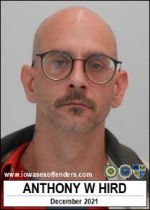 Anthony William Hird a registered Sex Offender of Iowa