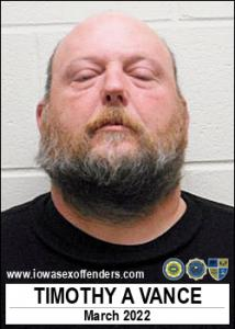 Timothy Andrew Vance a registered Sex Offender of Iowa