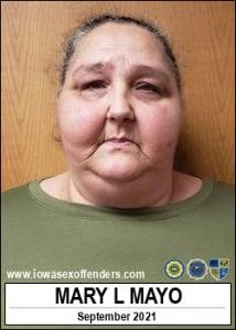 Mary Lea Mayo a registered Sex Offender of Iowa