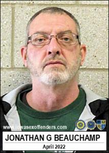 Jonathan Gene Beauchamp a registered Sex Offender of Iowa