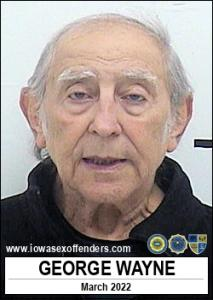 George Wayne a registered Sex Offender of Iowa