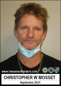 Christopher Wallace Mosset a registered Sex Offender of Iowa