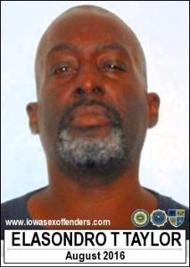 Elasondro Tyrone Taylor a registered Sex Offender of Iowa