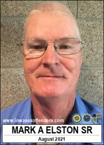 Mark Anthony Elston Sr a registered Sex Offender of Iowa