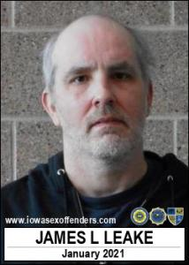 James Lawrence Leake a registered Sex Offender of Iowa