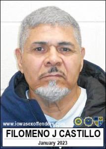 Filomeno Jr Castillo a registered Sex Offender of Iowa