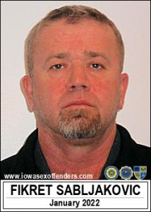 Fikret Sabljakovic a registered Sex Offender of Iowa