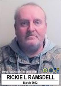 Rickie Lynn Ramsdell a registered Sex Offender of Iowa