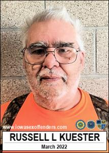Russell Lee Kuester a registered Sex Offender of Iowa