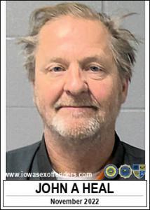 John Alan Heal a registered Sex Offender of Iowa