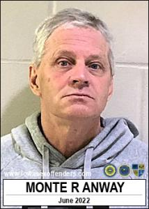 Monte Rae Anway a registered Sex Offender of Iowa