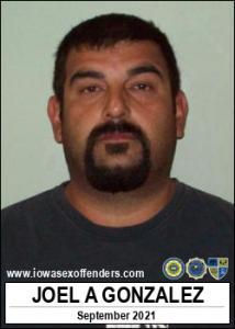 Joel Allen Gonzalez a registered Sex Offender of Iowa