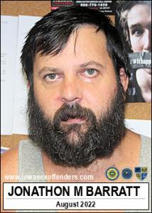 Jonathon Michael Barratt a registered Sex Offender of Iowa