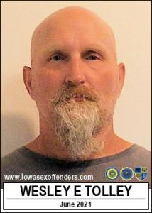 Wesley Earl Tolley a registered Sex Offender of Iowa