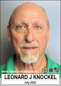 Leonard John Knockel a registered Sex Offender of Iowa