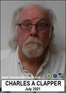 Charles Alan Clapper a registered Sex Offender of Iowa