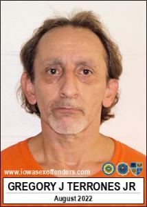 Gregory Joe Terrones Jr a registered Sex Offender of Iowa