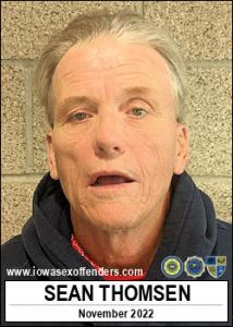 Sean Thomsen a registered Sex Offender of Iowa