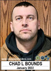 Chad Lavoon Bounds a registered Sex Offender of Iowa