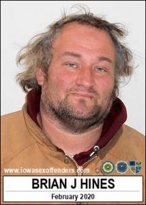 Brian James Hines a registered Sex Offender of Iowa